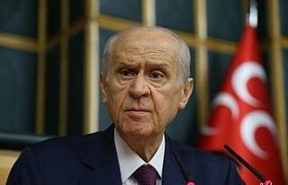 MHP Genel Başkanı Bahçeli'den Türk Tabipler...