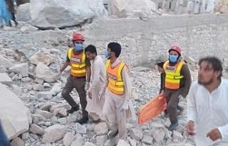 Pakistan'da mermer madeni çöktü: 11 ölü, 5...