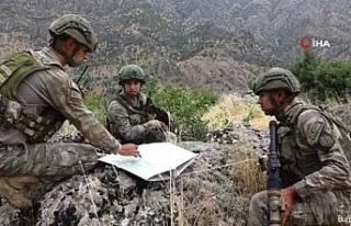 """""""Pençe Operasyonları ile toplam 320 PKK'lı..."""
