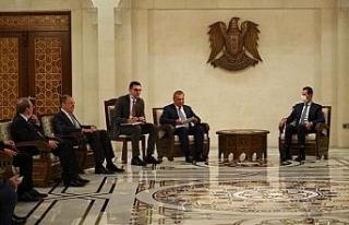 Rusya Dışişleri Bakanı Lavrov, Şam'da Esad'la...
