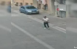 Sokak ortasında pompalı dehşeti