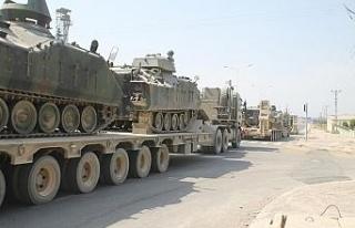 Tanklar, Suriye sınırından Yunanistan sınırına...