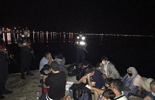Yunanistan'a kaçarken yakalanan FETÖ şüphelileri...