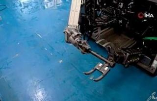 """Bakan Dönmez: """"Yerli su altı robotumuz Kaşif,..."""