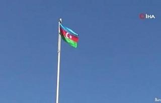Ermenistan işgalin kurtarılan Fuzuli kentine Azerbaycan...