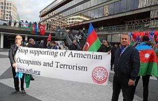 İsveç'te Ermenistan'ın Azerbaycan'a saldırıları...
