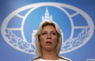"""Rusya Dışişleri Sözcüsü Zaharova: """"Dağlık..."""