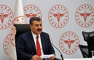 """Sağlık Bakanı Koca: """"35 kişi hayatını kaybetti,..."""