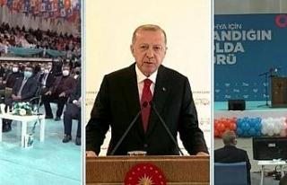 """Cumhurbaşkanı Erdoğan: """"Salgın tedbirleri..."""