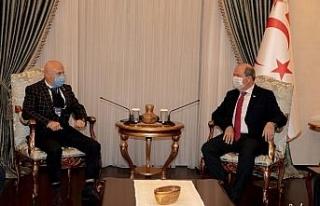 KKTC Cumhurbaşkanı Tatar, İstanbul Sanayicileri...