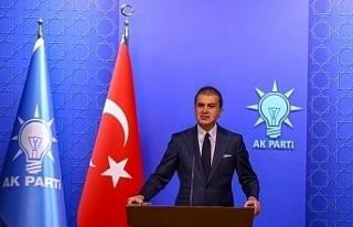 """Ömer Çelik: """"CHP'li Çeviköz, Türkiye'yi..."""