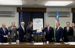 """Özbekistan ve ABD arasında """"Stratejik Ortaklık..."""