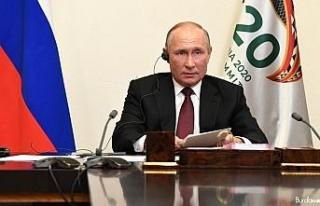 Putin'in G-20 zirvesindeki gündemi Covid-19 ve...