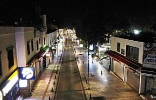 Turizmin gözbebeğinde cadde ve sokaklar bomboş...