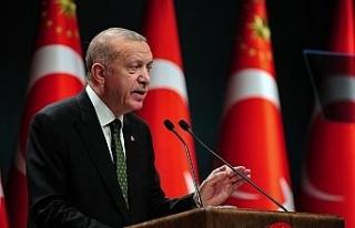 """Cumhurbaşkanı Erdoğan: """"AB ile ilişkilerimizi..."""