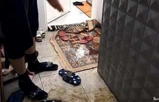 Edirne'de evleri su bastı, aileler perişan oldu