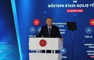 Cumhurbaşkanı Erdoğan'dan binalarda güçlendirme...