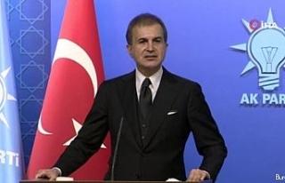 AK Parti Sözcüsü Çelik'ten İtalya Başbakanı...