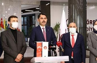 "Bakan Kurum: ""Ankara'ya 4 milyon metrekare büyüklüğünde..."