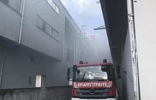 Esenyurt'ta kumaş fabrikasında korkutan yangın