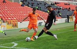 Süper Lig: Gaziantep FK: 1 - Medipol Başakşehir:...