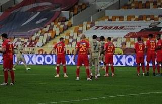 Süper Lig: Yeni Malatyaspor: 1 - Fenerbahçe: 1 (İlk...