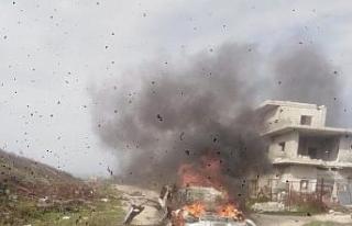Suriye'de sivil araca füzeli saldırı: 7 ölü,...
