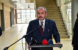 TBMM Başkanı Mustafa Şentop, Kuzey Makedonya Adalet...