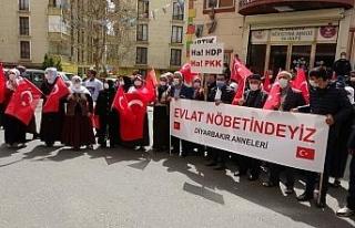 Yüreği yanık 2 aile daha HDP önündeki evlat nöbeti...