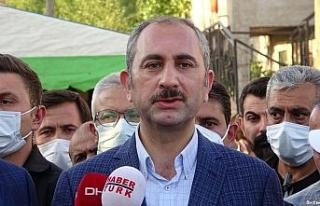 Adalet Bakanı Gül ve Kurtulmuş'tan katledilen...