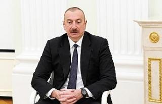 Azerbaycan Cumhurbaşkanı Aliyev'den Cumhurbaşkanı...