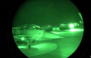 Kuzey Irak'a düzenlenen hava harekatında teröristlere...