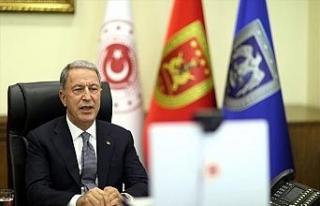 Milli Savunma Bakanı Akar, Afganistanlı mevkidaşı...