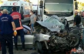 Ankara'daki kazada hayatını kaybedenlerin sayısı...