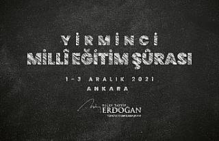 """Cumhurbaşkanı Erdoğan: """"Milli Eğitim Şurası'nı..."""