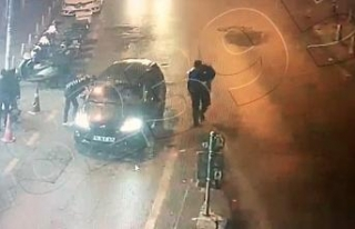 İstanbul'da dehşet anları kamerada: Silahla dizlerinden...