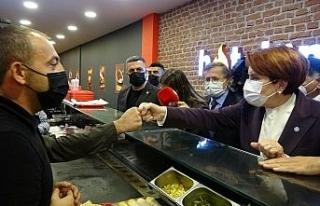 İYİ Parti Genel Başkanı Akşener, Ardahan'da...