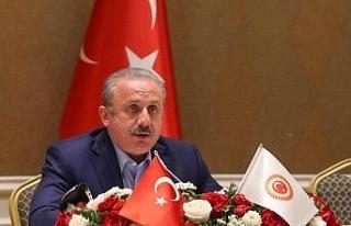 TBMM Başkanı Şentop, Kazakistan'da Türk iş...