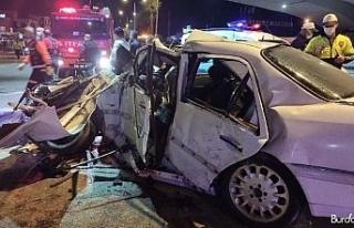 Baba ve oğlunun öldüğü kazada araçta bulunan...