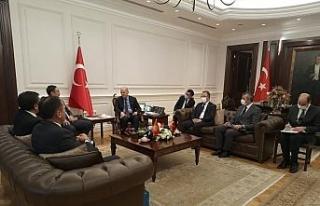 Bakan Soylu, Kırgızistan Acil Durumlar Bakanı Boobek...