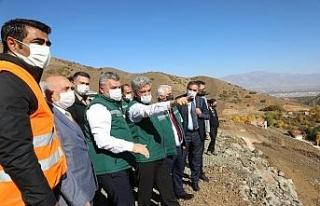 Ballı Barajının tamamlanmasıyla 10 bin 410 dekarlık...