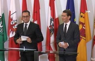 Başbakan Sebastian Kurz istifa etti