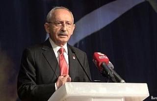 CHP lideri Kılıçdaroğlu'ndan Ahmet Türk'e...