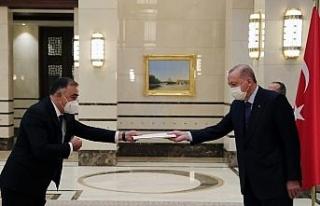 Cumhurbaşkanı Erdoğan, Azerbaycan Büyükelçisini...