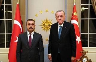 Cumhurbaşkanı Erdoğan, Merkez Bankası Başkanı...