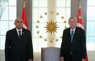 Cumhurbaşkanı Erdoğan, Tacikistan Meclis Başkanı...