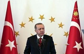 Cumhurbaşkanı Erdoğan'dan Ankara'nın başkent...