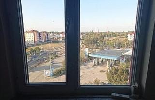 İHA, Aleyna'nın intihar ettiği iddia edilen binayı...
