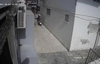 Kırgız gencin 7'nci kattan düşüşü güvenlik...