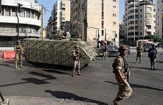 Lübnan'daki silahlı çatışmalarla ilgili 9 kişi...